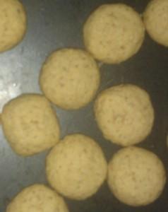 Småkager lavet med havregryn