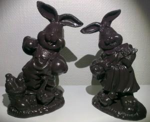 Chokolade kaniner