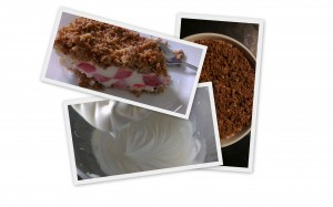 Cheesecake fra krummer til færdig kage