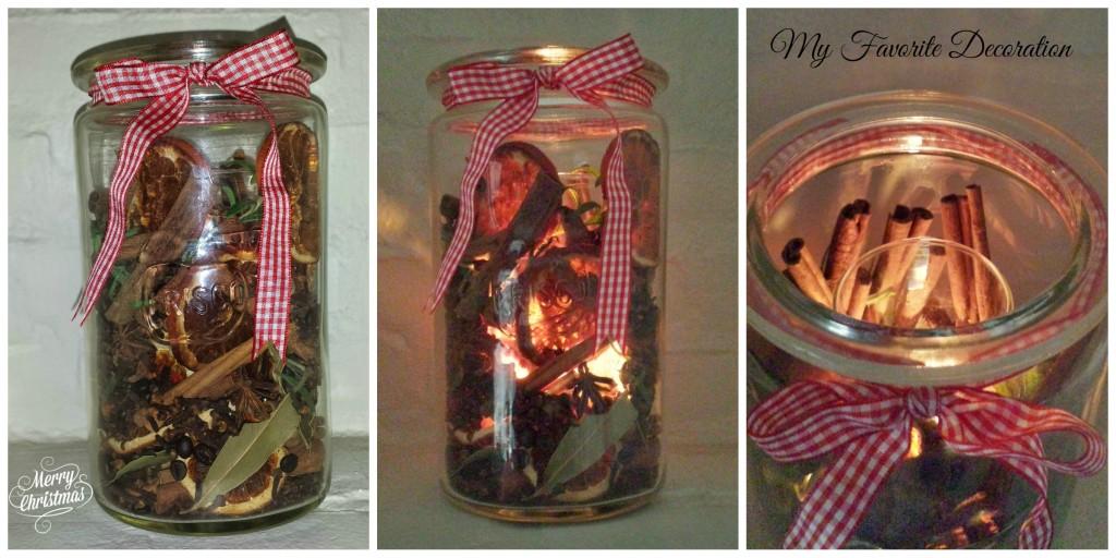 Duft- og lysdekoration - Christmas Potpourri