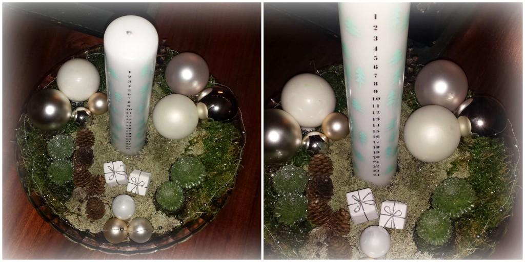 Kalenderdekoration - Calendar Christmas Decoration