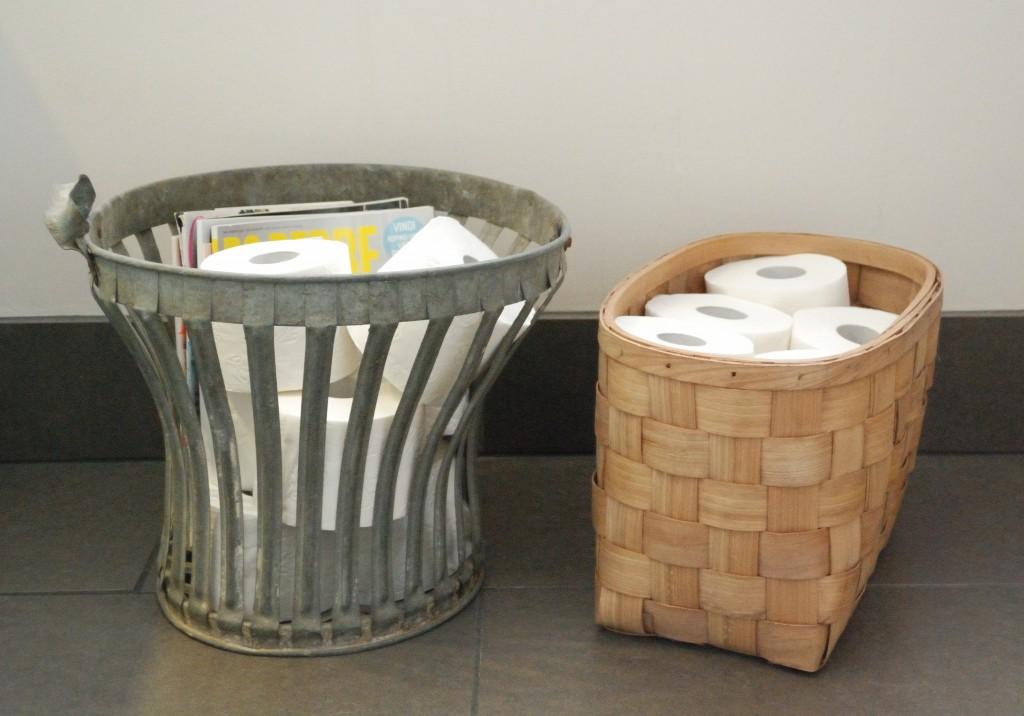 Nemme og dekorative måder til opbevaring af toiletruller